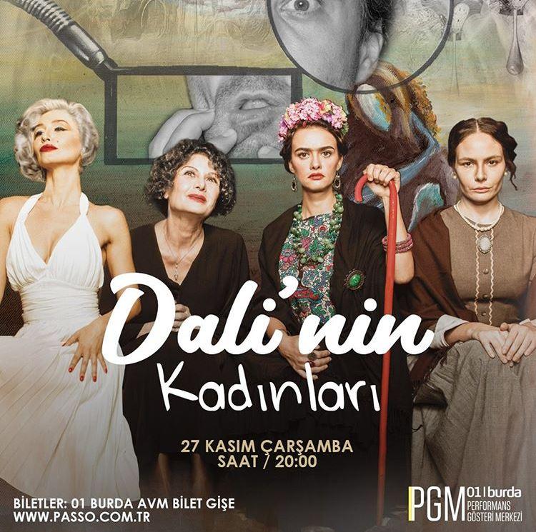 Dali'nin Kadınları 01 Burda AVM'de!