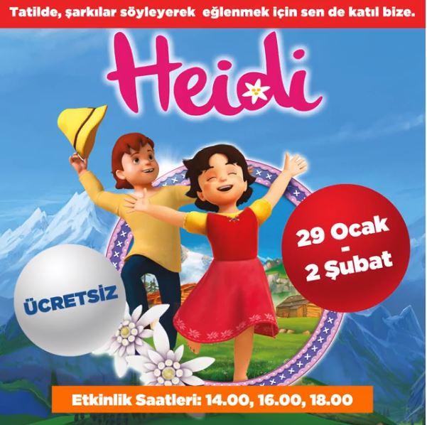 10 Burda Heidi Müzikal Etkinliği!