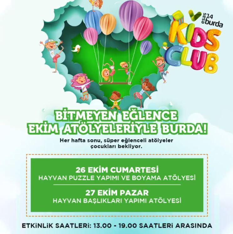 14 Burda Kids Club Ekim Atölyeleri!