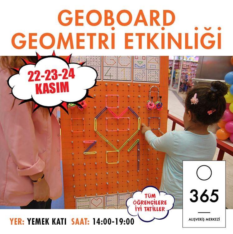 365 AVM Geoboard Geometri Etkinliği!
