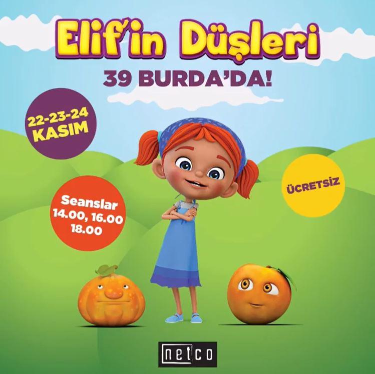 Elif'in Düşleri 39 Burda'da!