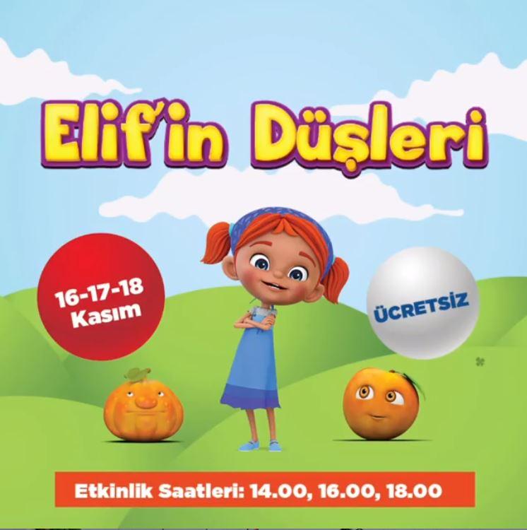 41 Burda AVM Elif'in Düşleri Müzikal Etkinliği!