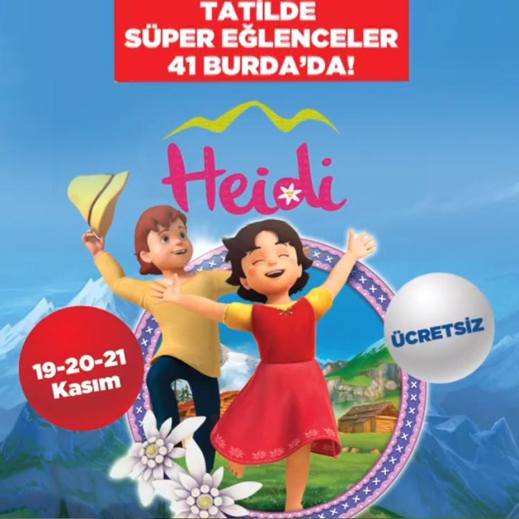 41 Burda Heidi Müzikal Etkinliği!