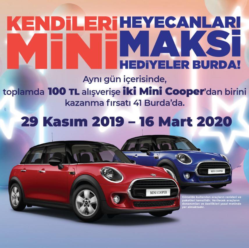 41 Burda Mini Cooper Çekiliş Kampanyası!