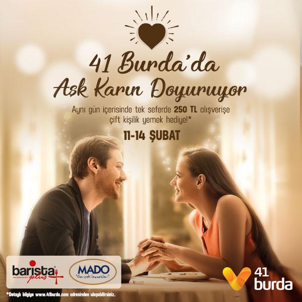 41 Burda'da aşk karın doyuruyor!