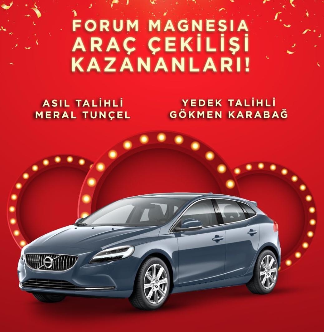 Forum Magnesia Volvo V40 Çekiliş Sonucu Açıklandı!