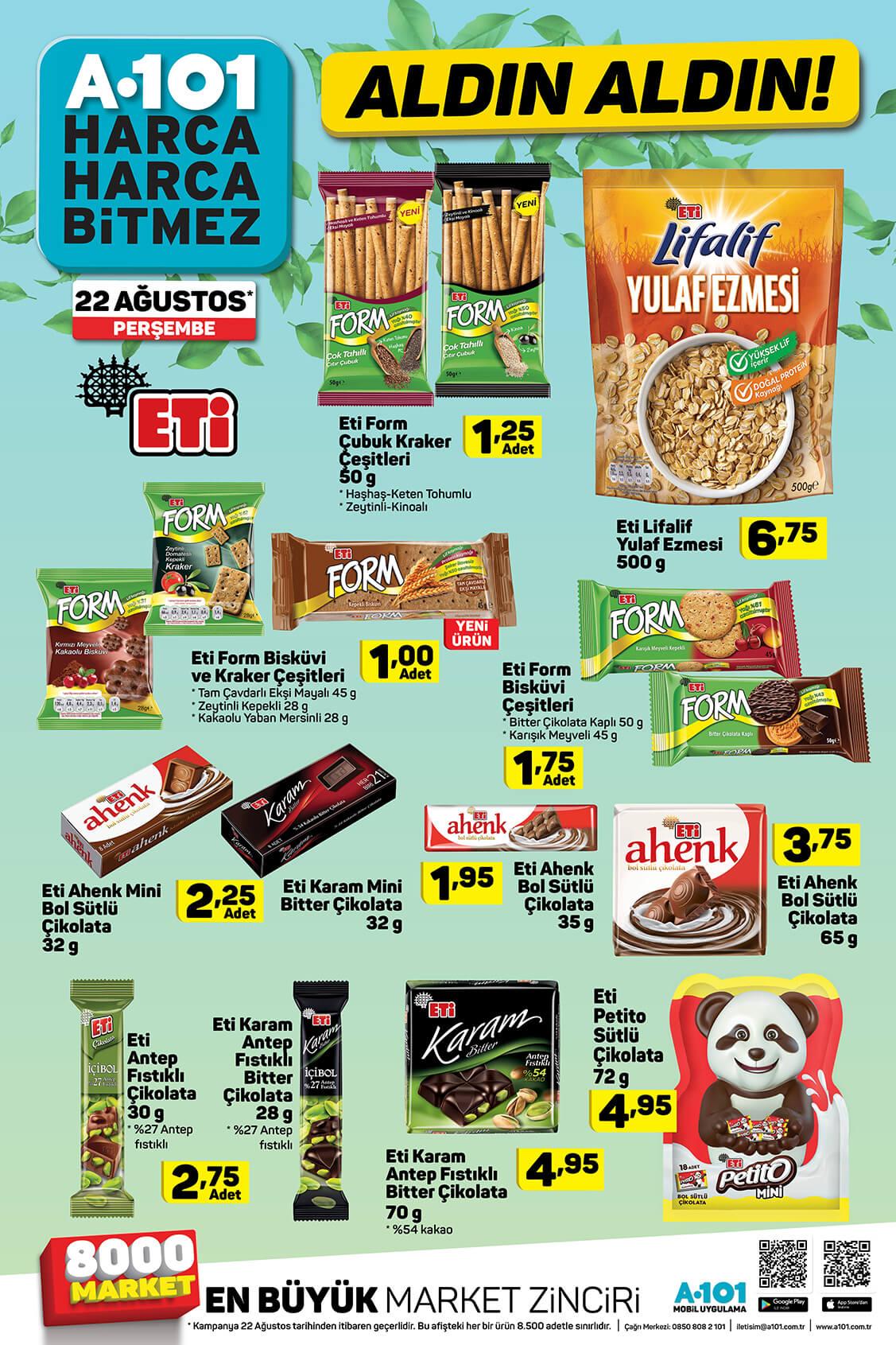 A101 22 Ağustos'tan İtibaren Aldın Aldın Aktüel Ürünleri!