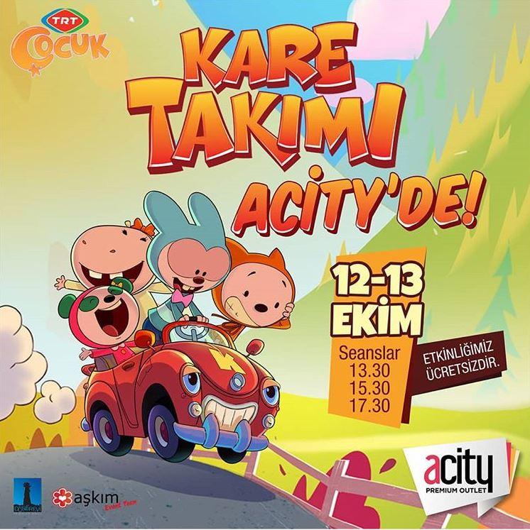 Acity Premium Outlet Kare Takımı Müzikal Etkinliği!