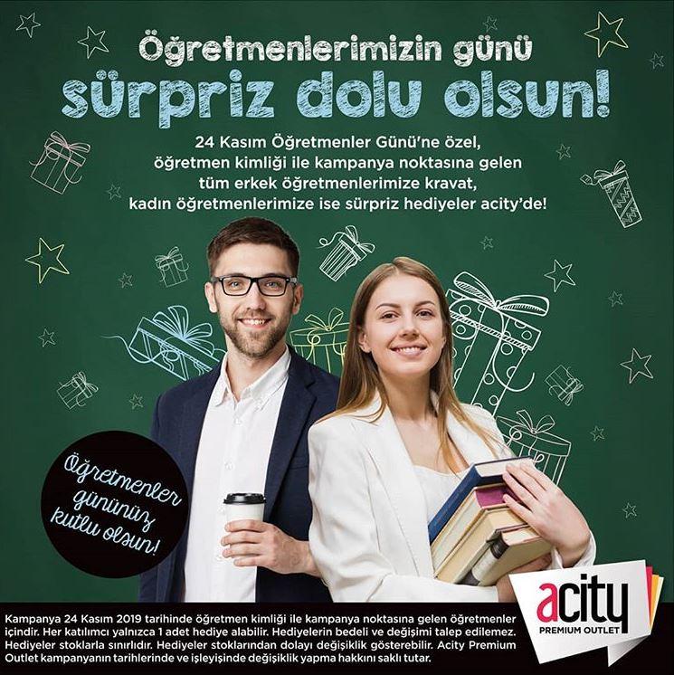 Acity Öğretmenler Günü Hediye Kampanyası!