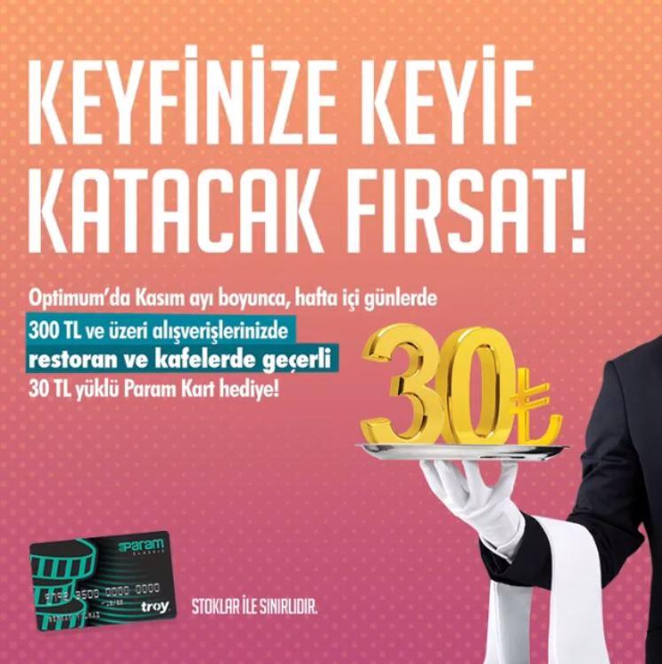 Keyfinize keyif katacak fırsat Adana Optimum'da!