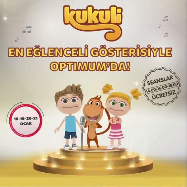 Adana Optimum Kukuli Müzikal Eğlencesi!