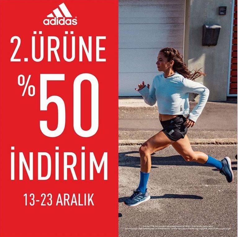 Adidas'ta 2. Ürüne %50 indirim fırsatı!
