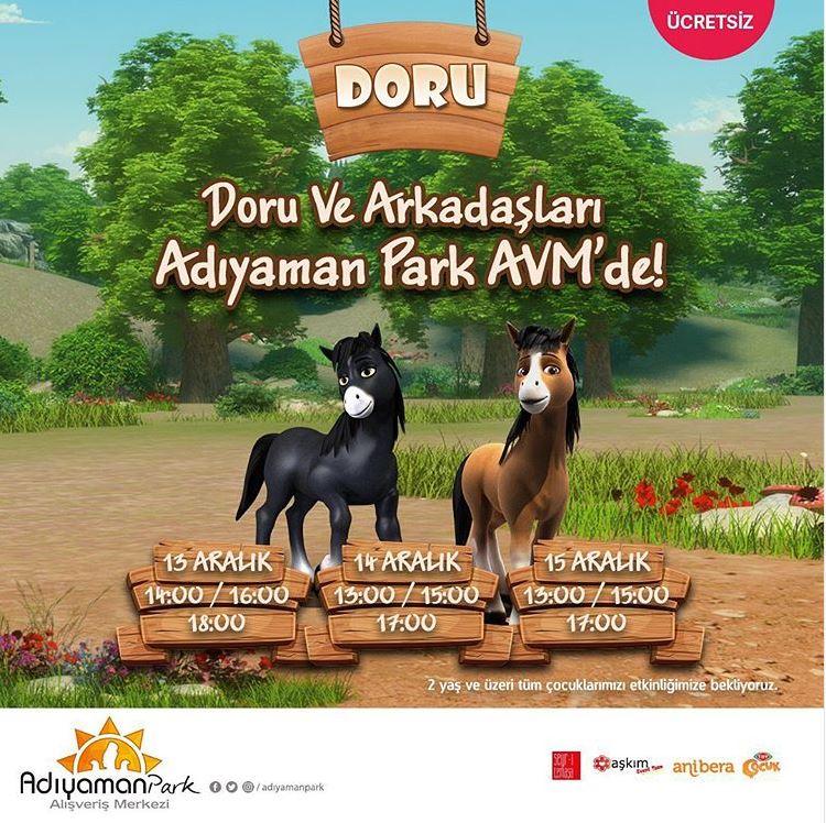 Doru ve Arkadaşları Adıyaman Park AVM'de!