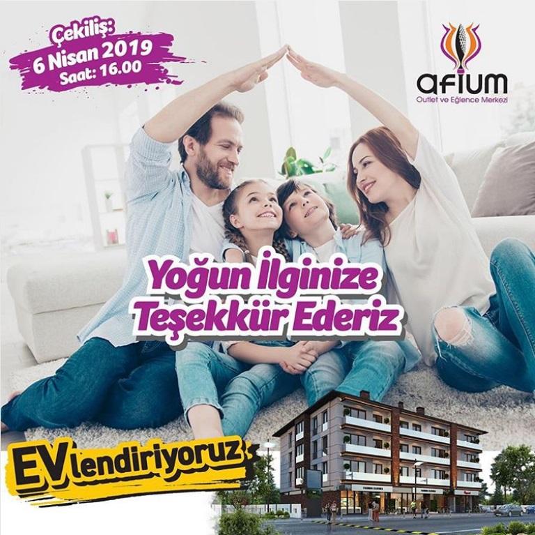 Afium AVM Evlendiriyoruz Çekiliş Kampanyası Gerçekleşiyor!