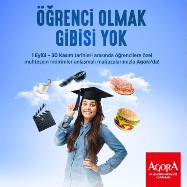 Agora Adapazarı'nda Öğrenci olmak gibisi yok!