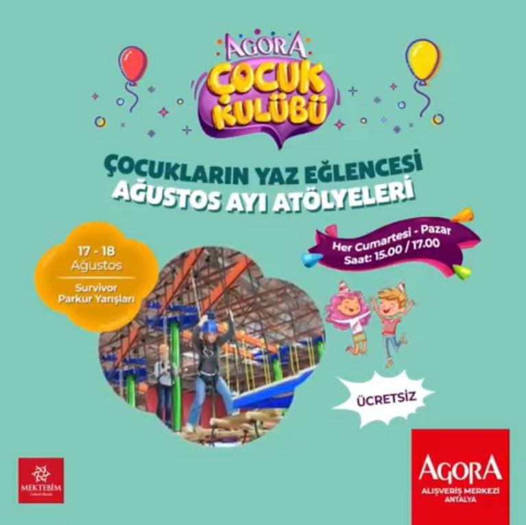 Agora Antalya Survivor Parkur Yarışları!
