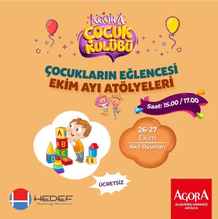 Agora Antalya Akıl Oyunları Tiyatro Oyunu!