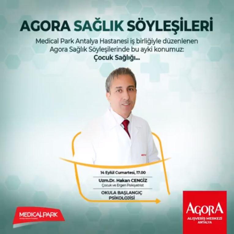 Sağlıklı bir hayat için Agora Antalya'ya!