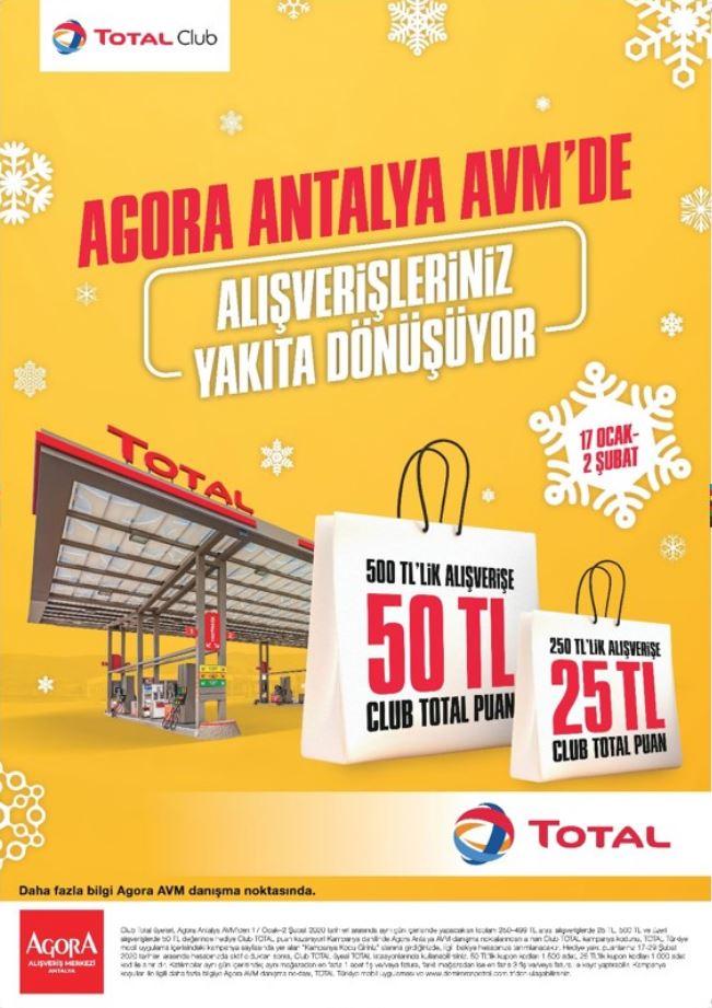 Antalya Agora AVM'de alışverişiniz yakıta dönüşüyor!