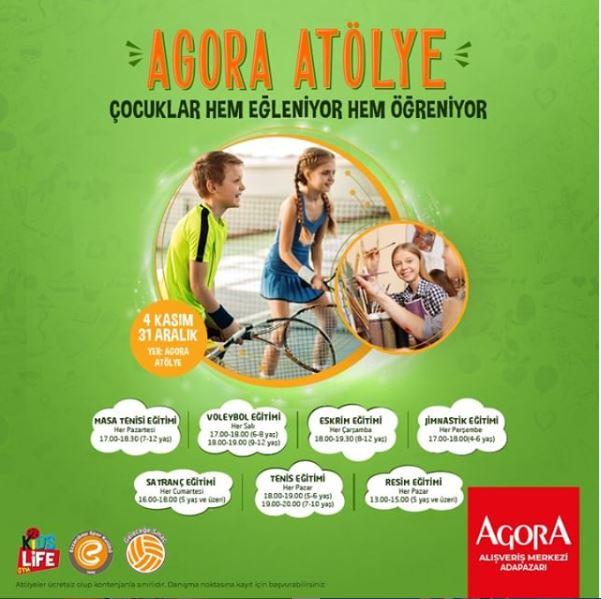 Agora Atölye'de çocuklar hem eğleniyor hem öğreniyor!