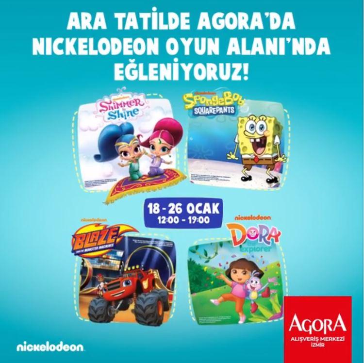 En sevilen çizgi film kahramanları ara tatilde Agora'da!