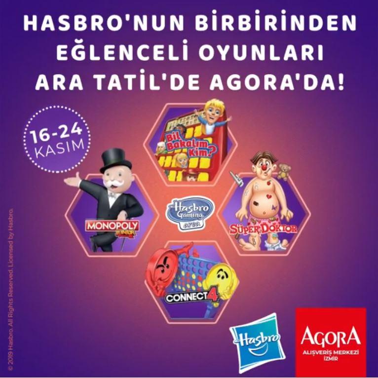 Agora İzmir Hasbro Etkinlikleri!