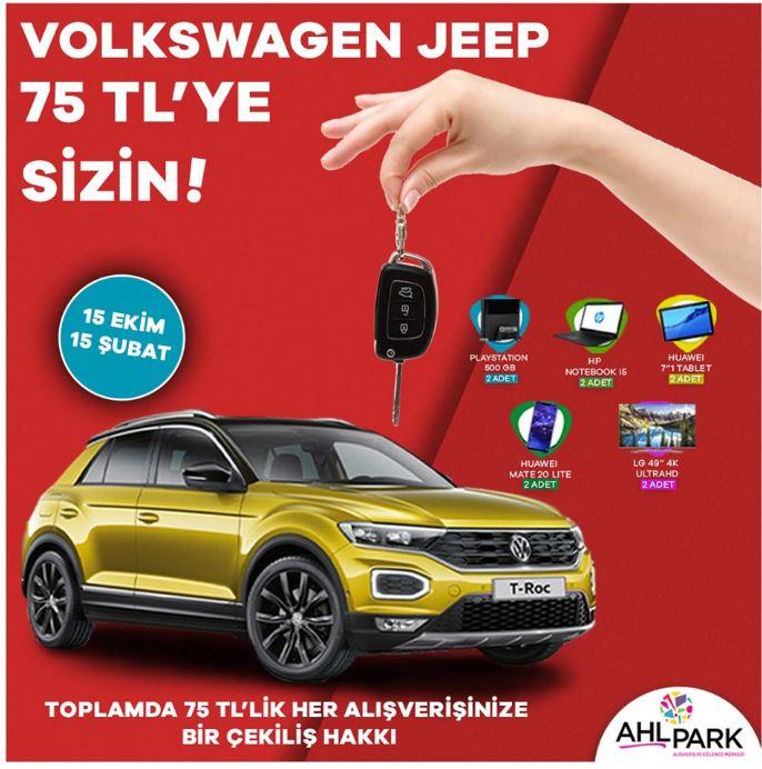 AHL Park AVM Volkswagen T-Roc Çekiliş Kampanyası!