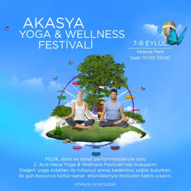 Akasya Yoga ve Wellness Festivali!