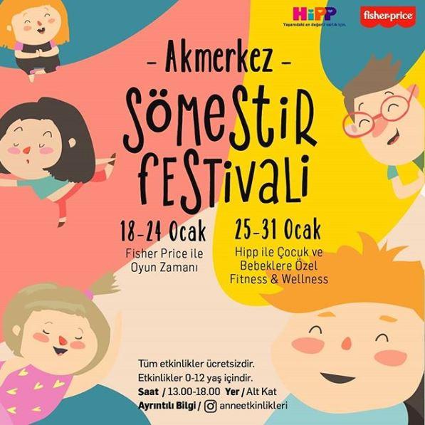 Akmerkez Sömestir Festivali!
