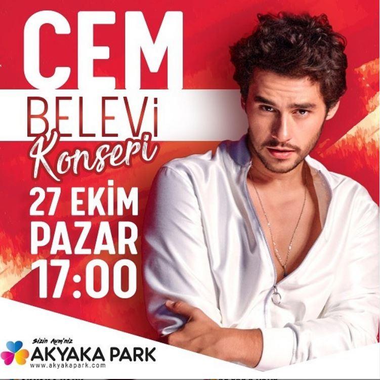 Akyaka Park Cem Belevi Konseri!