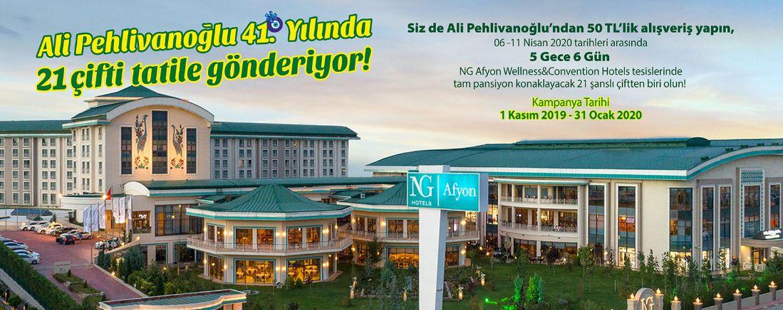 Ali Pehlivanoğlu Market 21 Çifte Tatil Çekiliş Kampanyası!