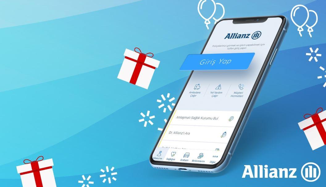 Allianz'ım Mobil Uygulaması iPhone 11 Pro Max Çekiliş Kampanyası!