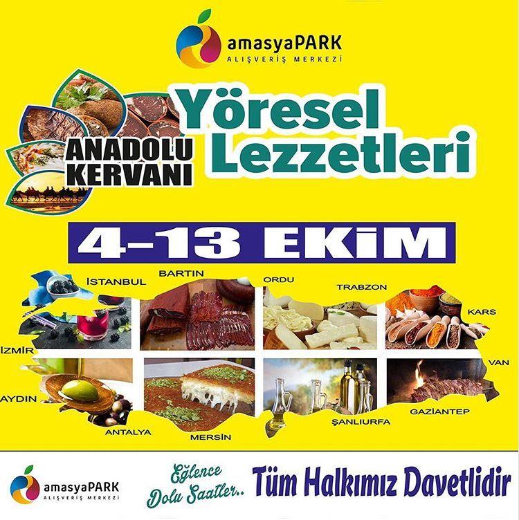 Amasyapark  Yöresel Lezzetler Festivali!