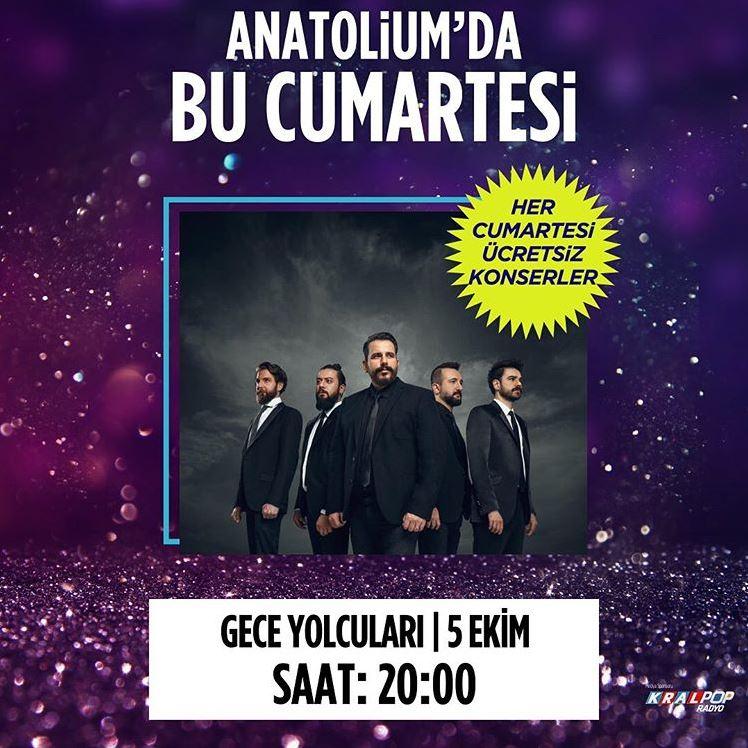 Anatolium Marmara Gece Yolcuları Konseri!