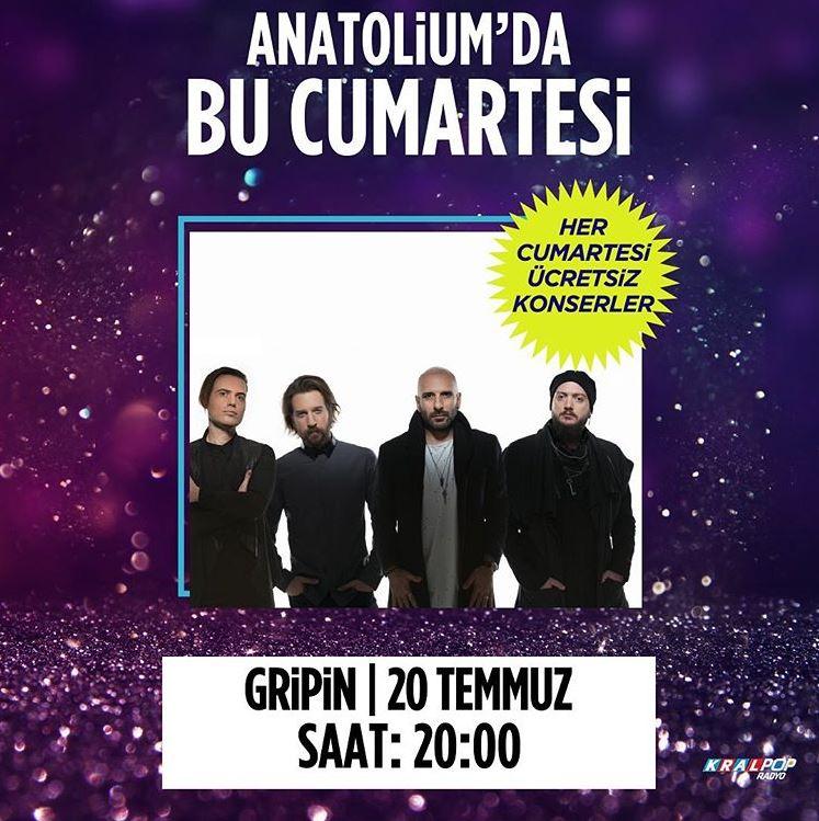 Anatolium Marmara Gripin Konseri!