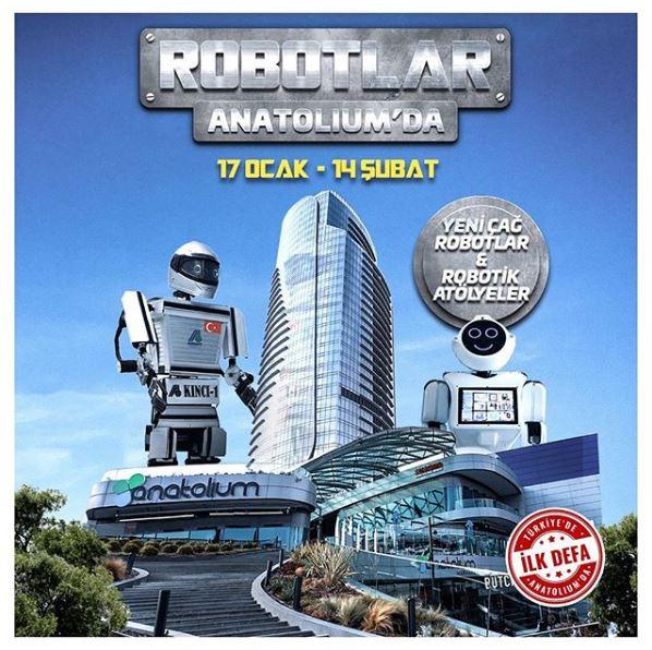 Anatolium Marmara Robotik Atölyeler ve Yeni Çağ Robotlar!