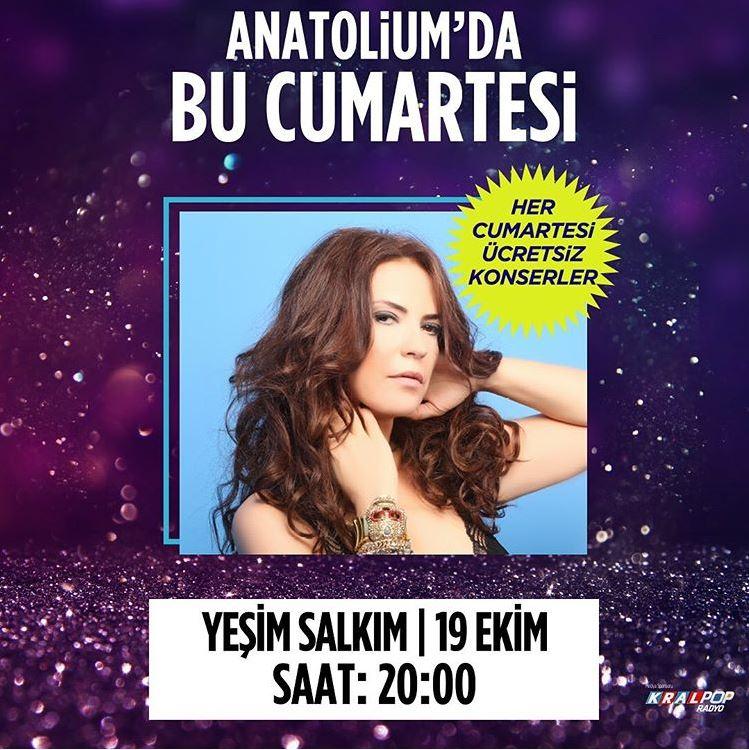 Anatolium Marmara Yeşim Salkım Konseri!