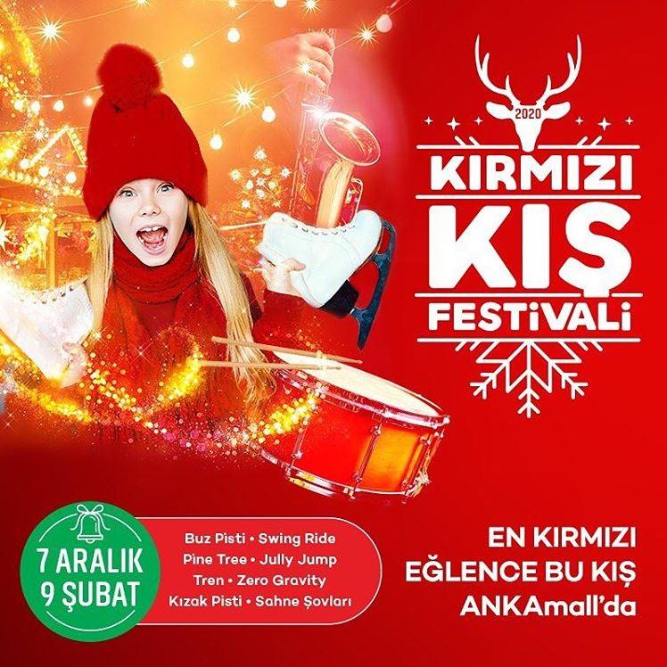 Ankamall Kırmızı Kış Festivali!