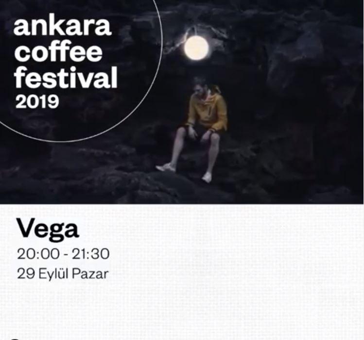 Ankara Coffee Festival Vega Konseri!