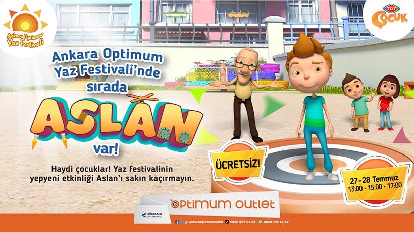 Ankara Optimum Aslan Müzikal Gösterisi!