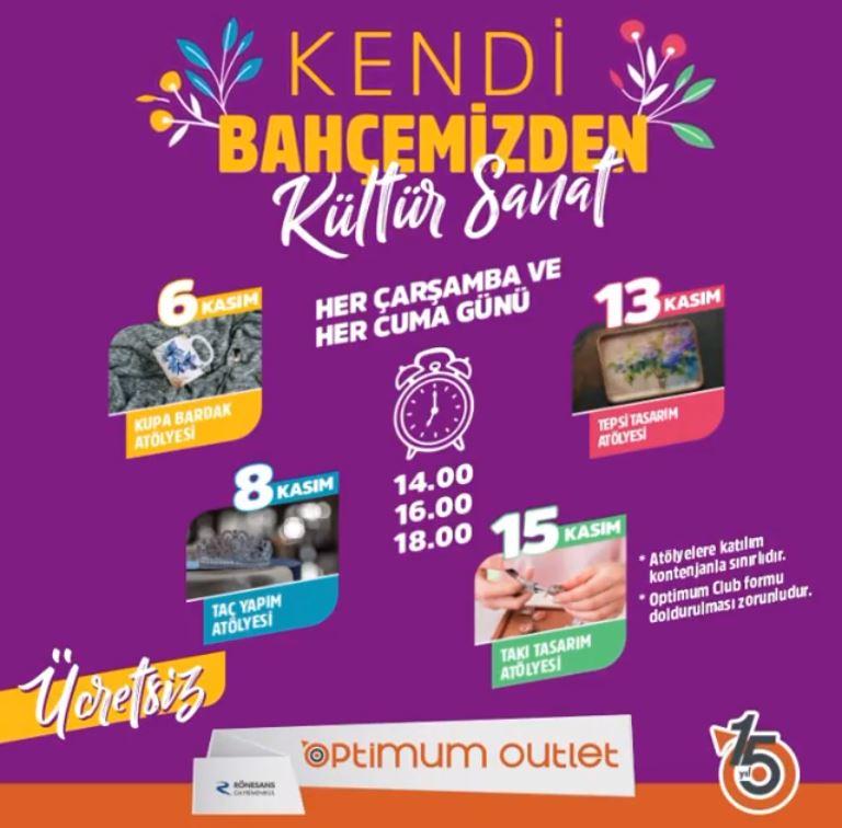 Ankara Optimum Kadınlar Kulübü Etkinlikleri!