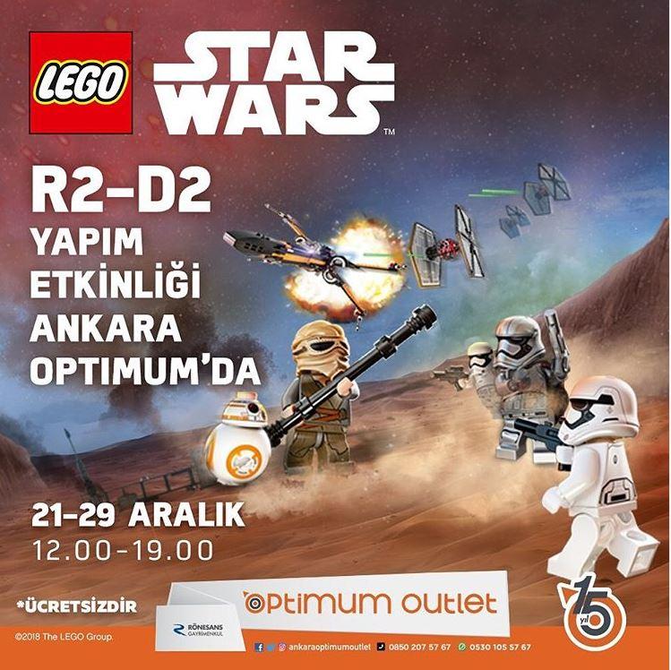 Ankara Optimum Lego Star Wars R2-D2 Yapım Etkinliği!
