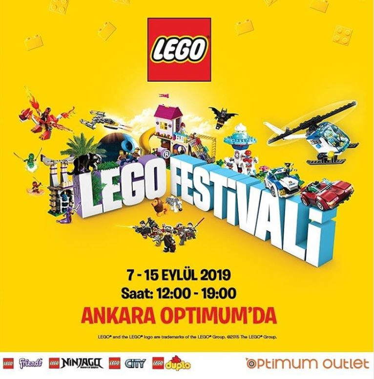 Ankara Optimum Outlet Lego Festivali!