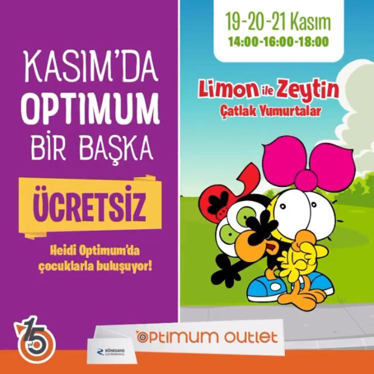 Ankara Optimum Limon ile Zeytin Müzikal Etkinliği!
