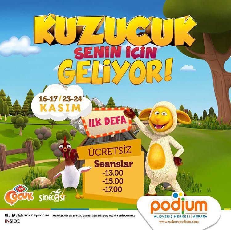 Ankara Podium Kuzucuk Müzikal Etkinliği!