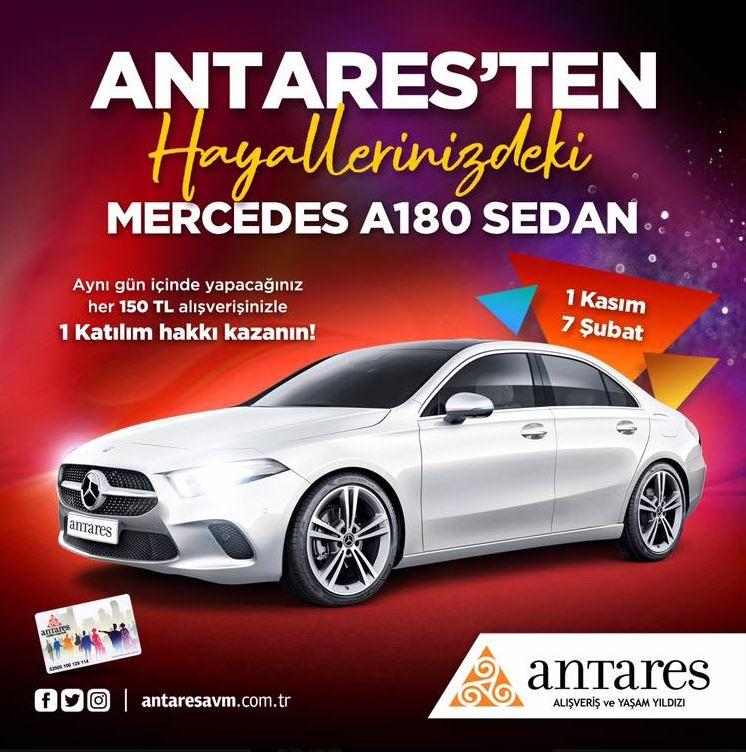 Antares Mercedes A180 Sedan Çekiliş Kampanyası!