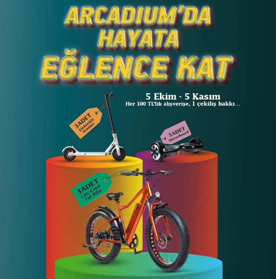 Arcadium AVM City Coco Çekiliş Kampanyası!
