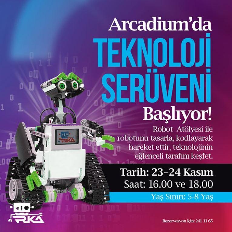 Arcadium Teknoloji Serüveni devam ediyor!