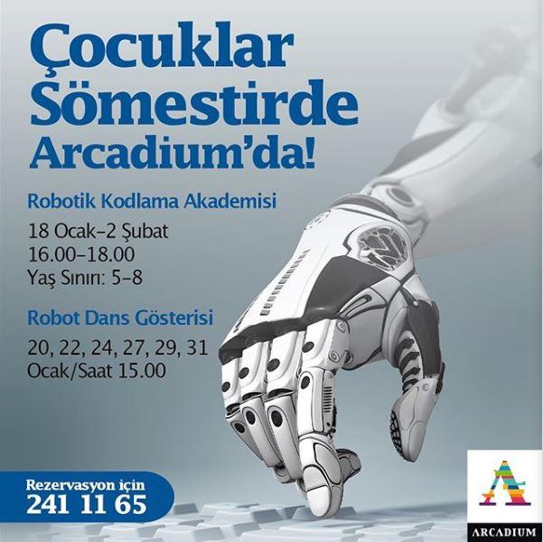 Arcadium Robotik Kodlama Akademisi ve Robot Dans Gösterisi!