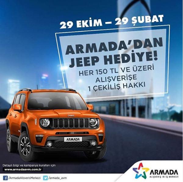 Armada Jeep Renegade Çekiliş Kampanyası!